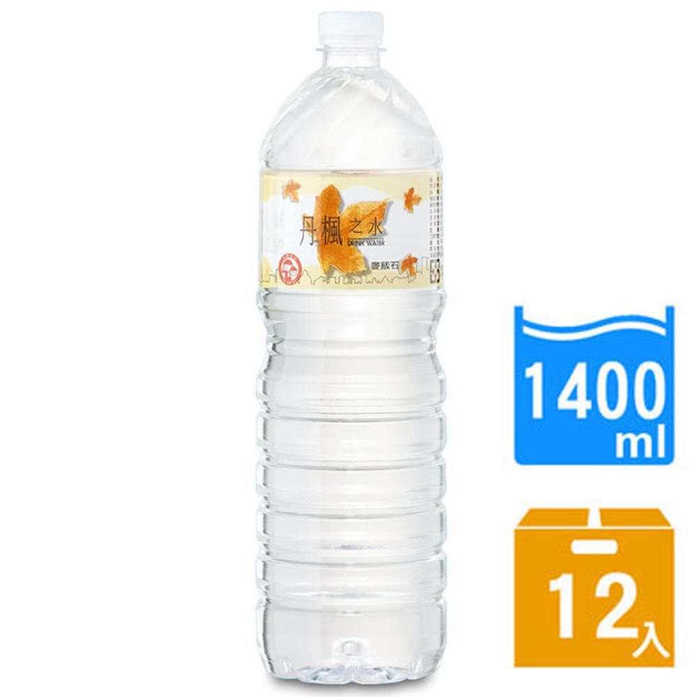 【DRINK WATER丹楓之水】麥飯石礦泉水1400ml(12瓶x2箱) FDF-DW140x2