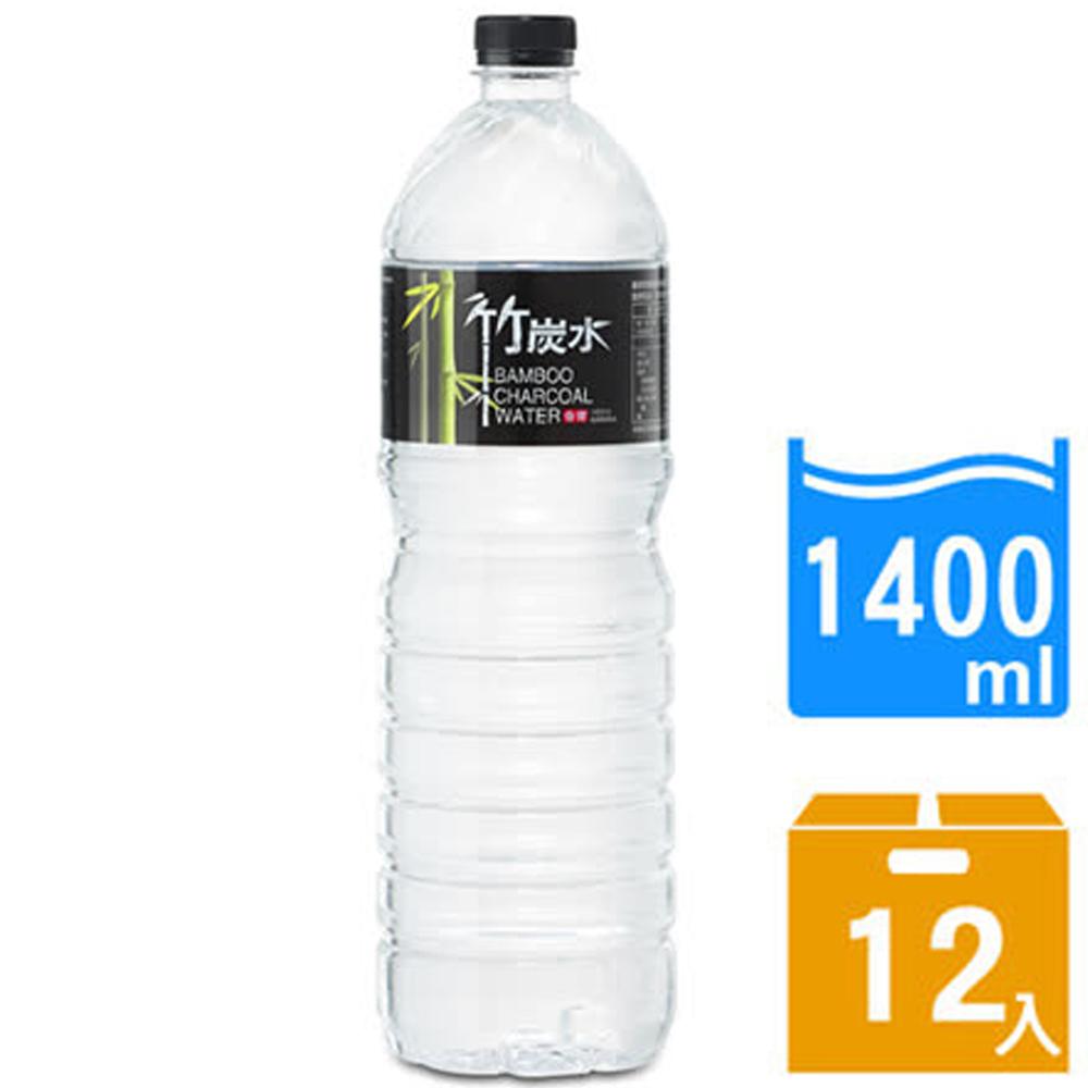 【奇寶】竹炭水1400ml(12瓶/箱) FDF-BCW140x1