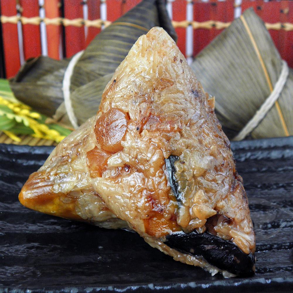 【陳媽媽】獨家巴掌南瓜干貝肉粽(10顆)