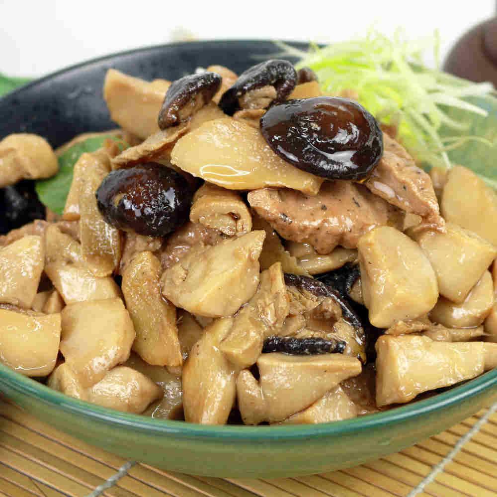 預購【高興宴】素人上菜-主廚特選三杯杏鮑菇(適合4-6人份)