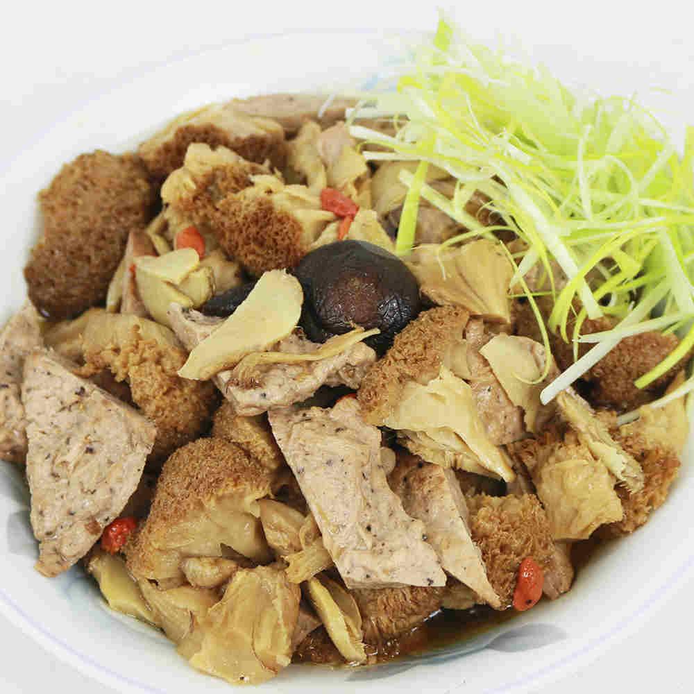 年菜預購-【高興宴】素人上菜-珍寶養生麻油猴頭菇(適合4-6人份)