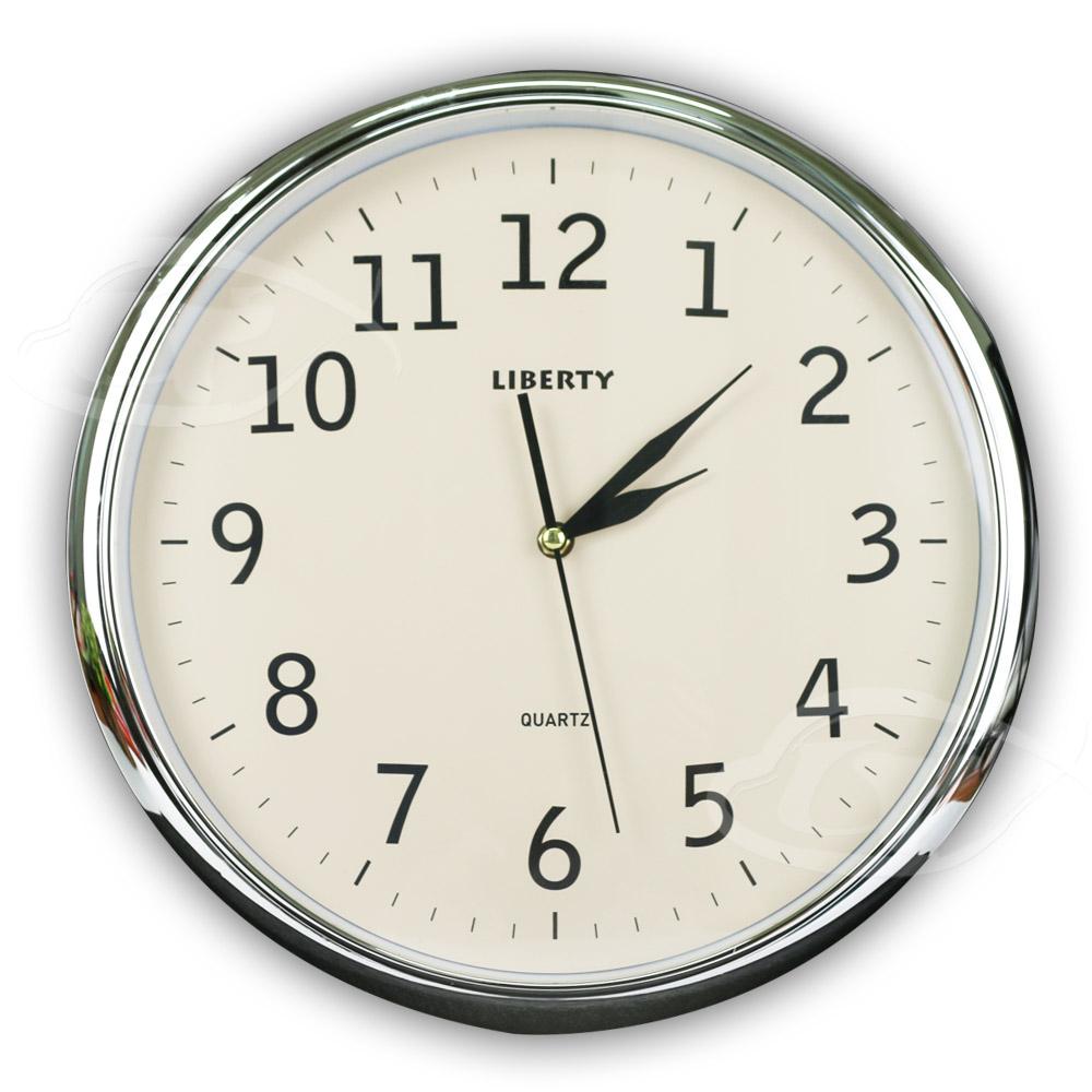 【LIBERTY利百代】14吋時尚復古掛鐘 LB-1003