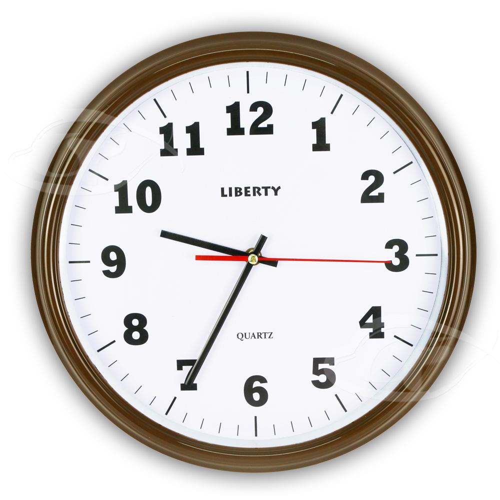 【LIBERTY利百代】14吋簡約復古掛鐘 LB-1007