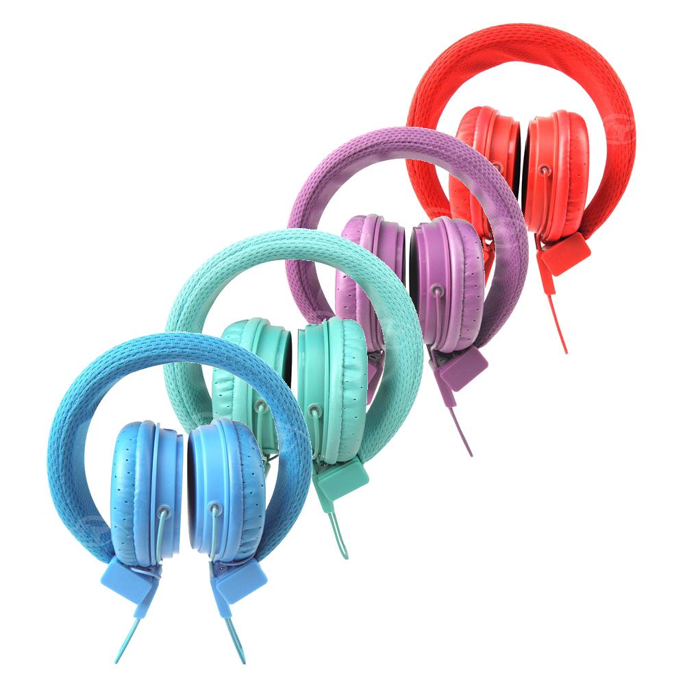 【Glitter】純色馬卡龍-智慧型手機用頭戴式耳麥-閃亮綠