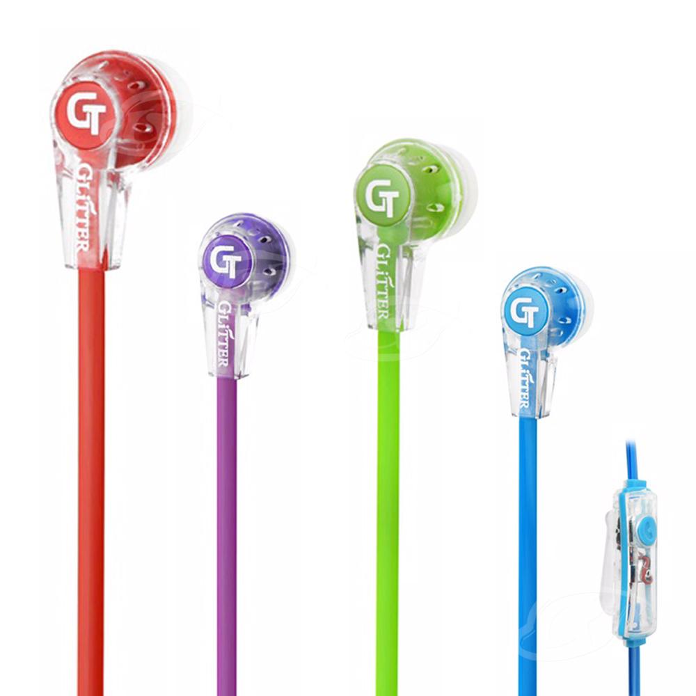 【Glitter】音樂水晶-高音質手機耳麥