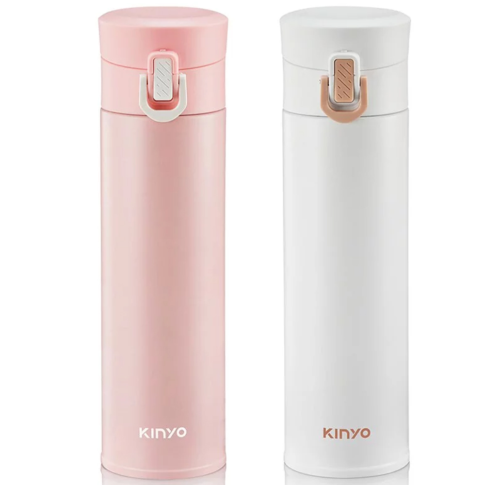 【KINYO】304不鏽鋼超輕量保溫杯300ml (KIM-30)