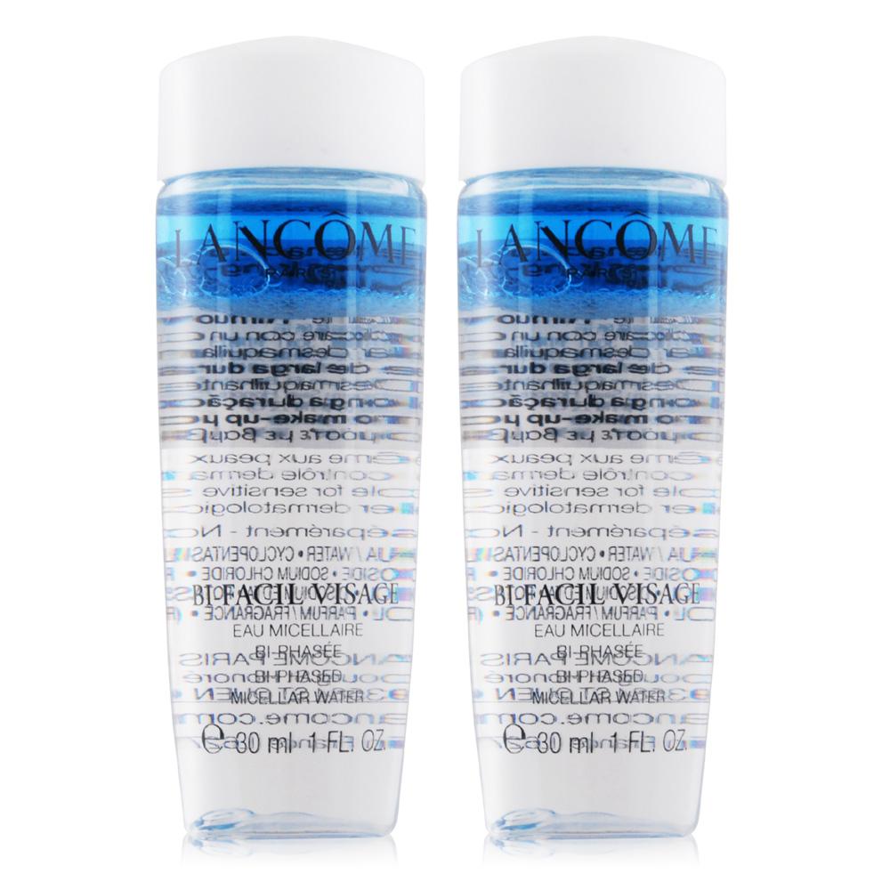 LANCOME 蘭蔻 高效卸妝潔膚水(30ml)X2-百貨公司貨