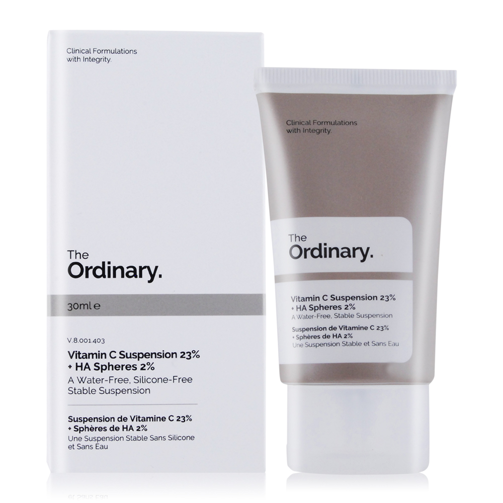 The Ordinary Vitamin C Suspension 23% + HA Spheres 2% 高純度維他命C 玻尿酸(30ml)