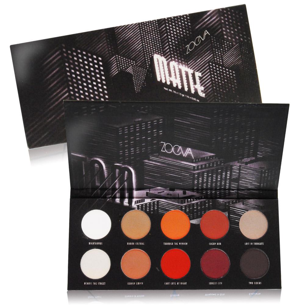 ZOEVA 十色眼影盤#MATTE(10X1.5gr)