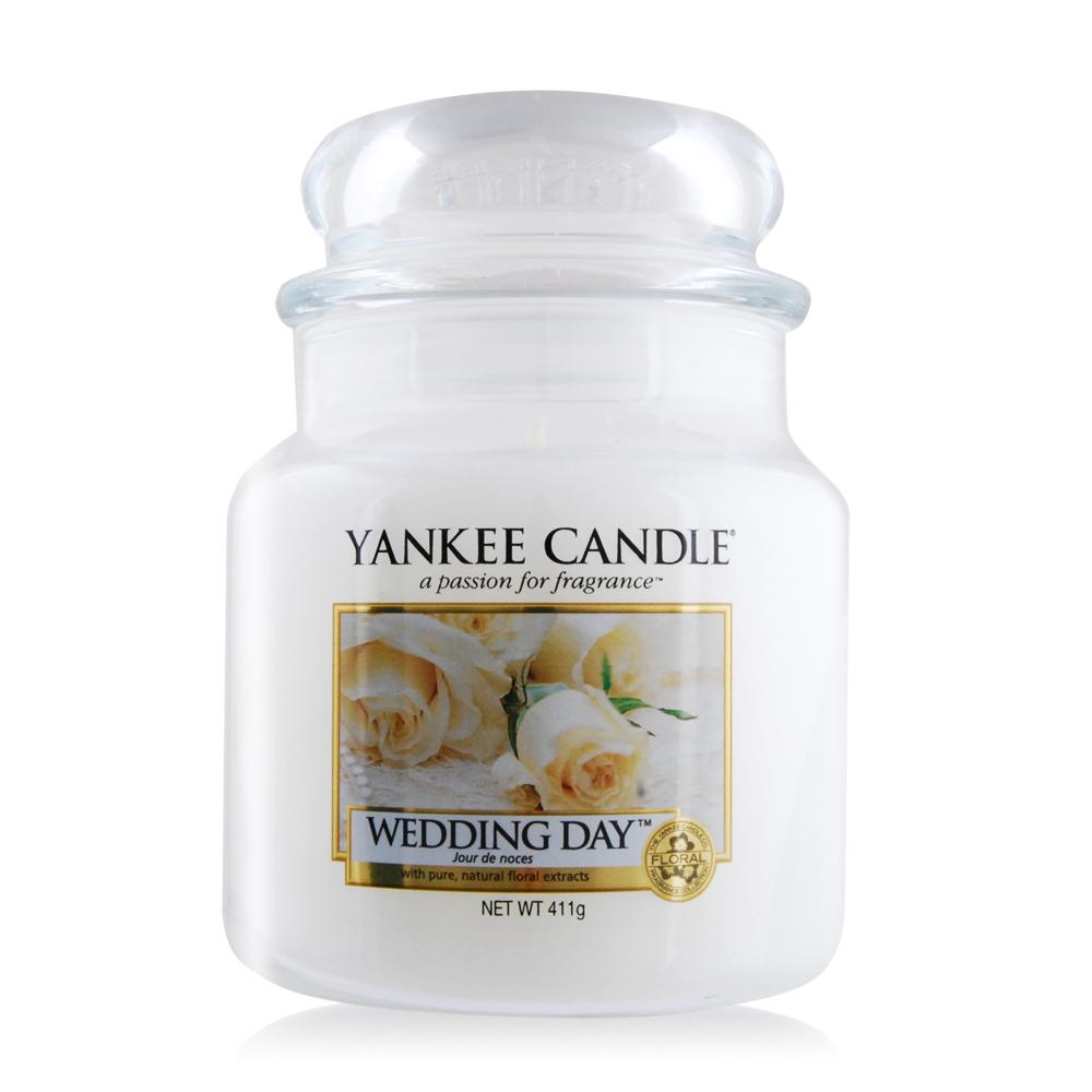 YANKEE CANDLE香氛蠟燭-婚禮的祝福 Wedding Day(411g)