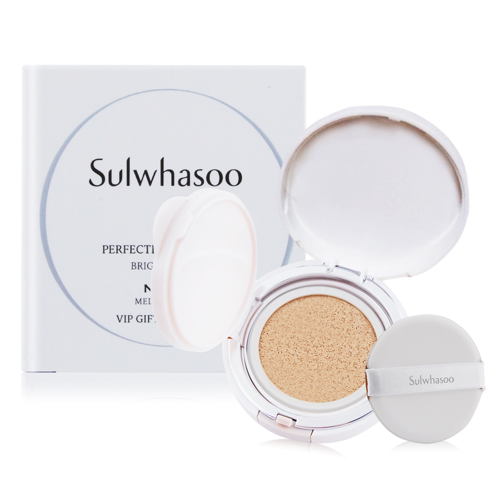 Sulwhasoo 雪花秀 無瑕光感氣墊粉霜SPF50+ PA+++(5g)#21 MEDIUM PINK(旅用隨行裝)