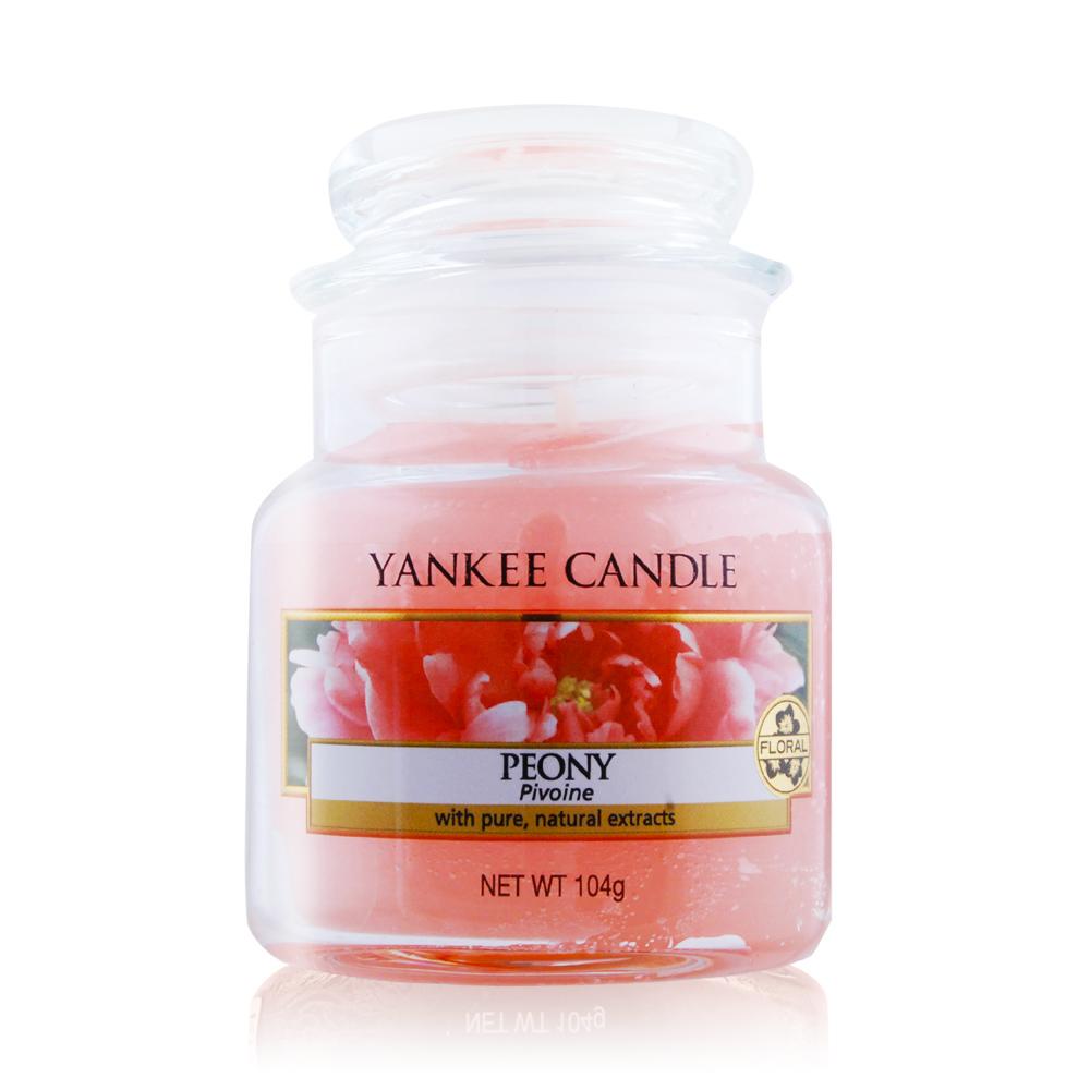 YANKEE CANDLE 香氛蠟燭-牡丹 Peony(104g)
