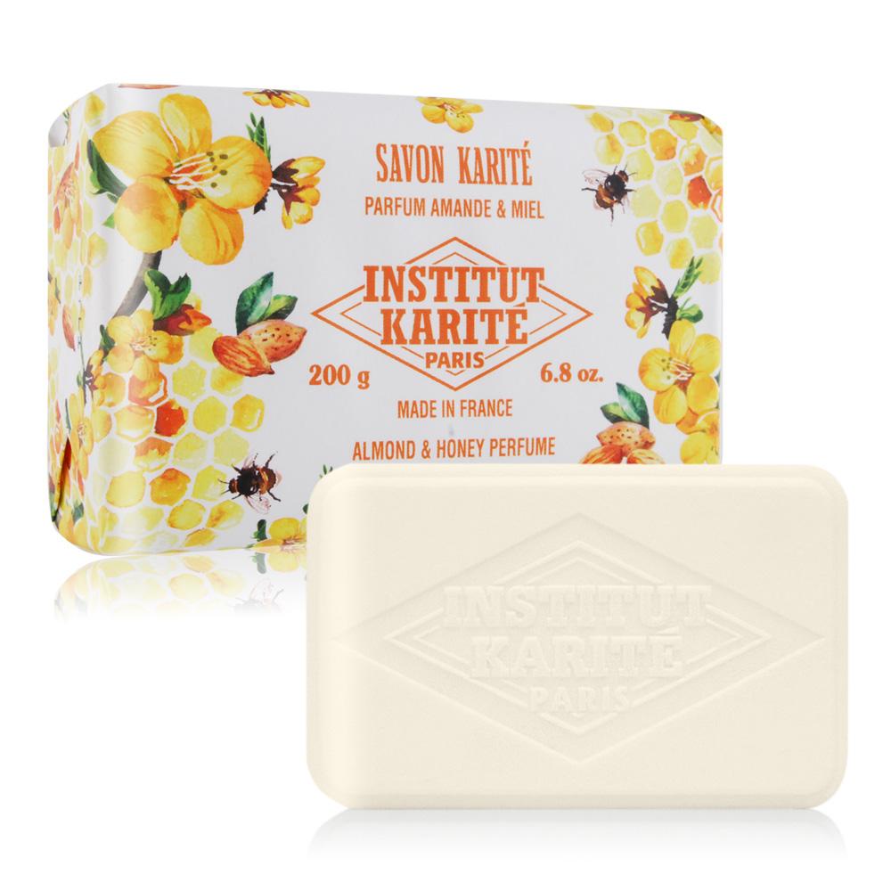 Institut Karite Paris 巴黎乳油木 杏仁蜂蜜花園香氛手工皂(200g)-公司貨