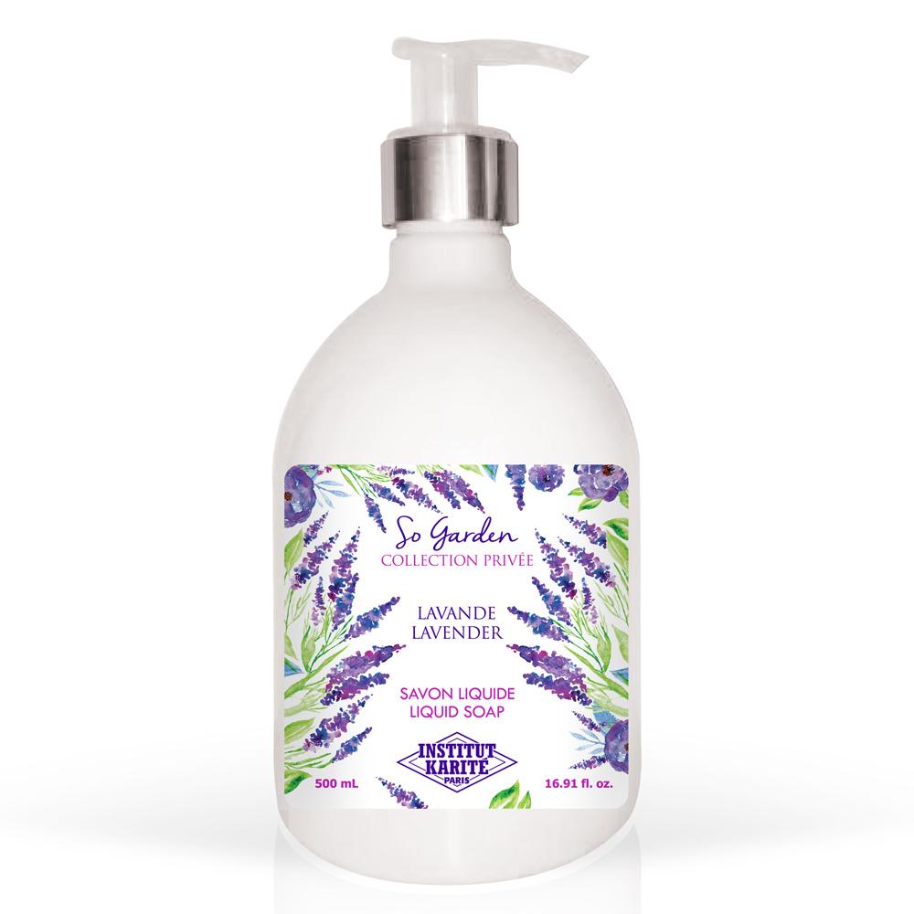 Institut Karite Paris 巴黎乳油木 薰衣草花園香氛液體皂(500ml)-公司貨