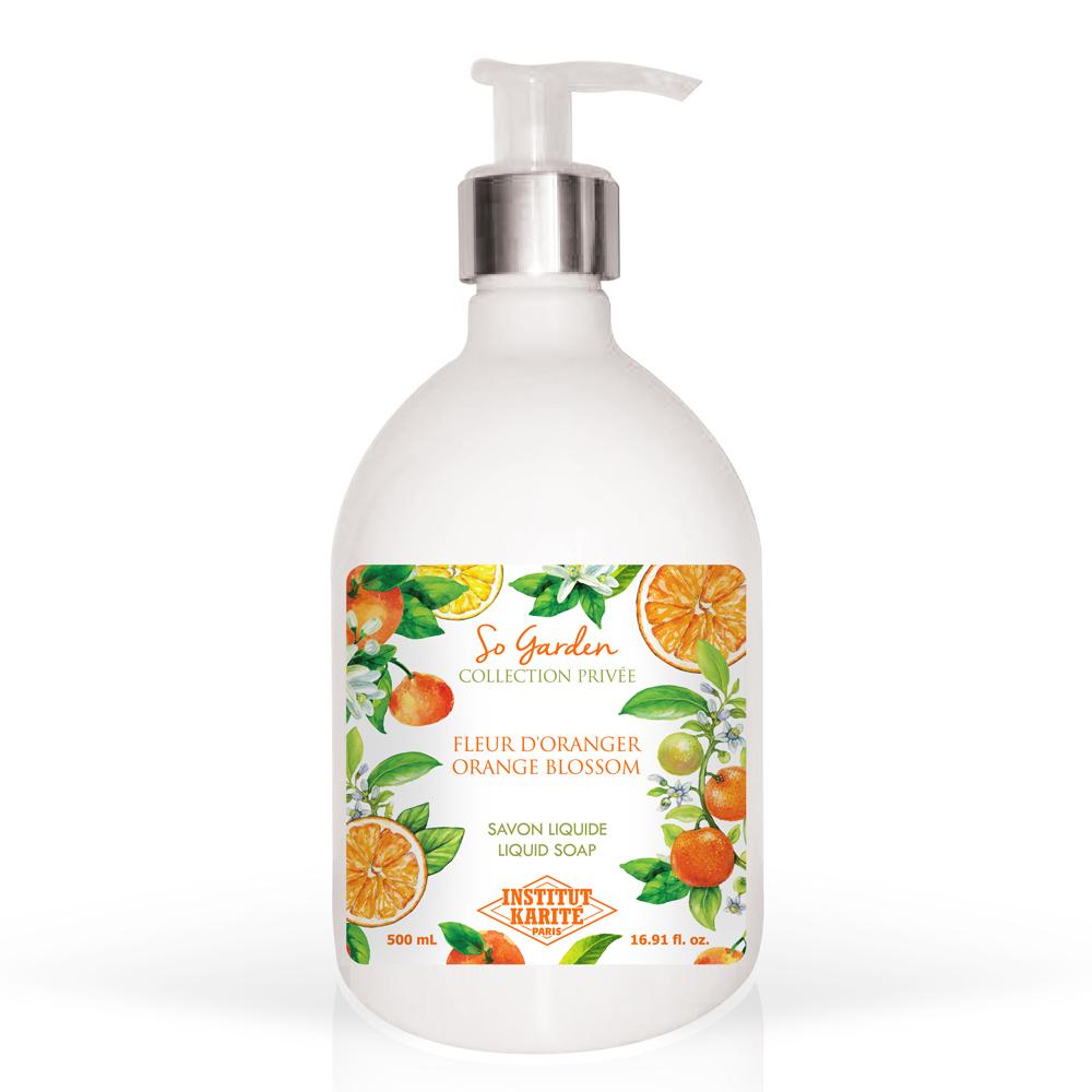 Institut Karite Paris 巴黎乳油木 橙花花園香氛液體皂(500ml)-公司貨