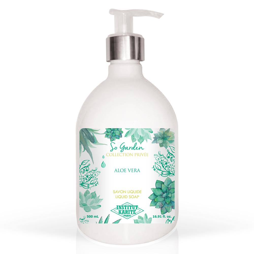Institut Karite Paris 巴黎乳油木 蘆薈花園香氛液體皂(500ml)-公司貨