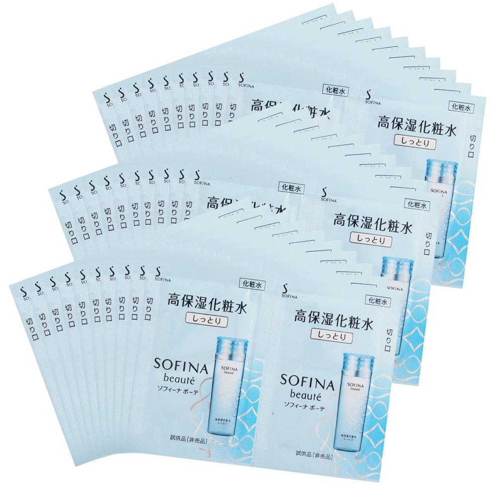 SOFINA 蘇菲娜 芯美顏保濕滲透露升級版-清爽型(1.2mlX2)X30