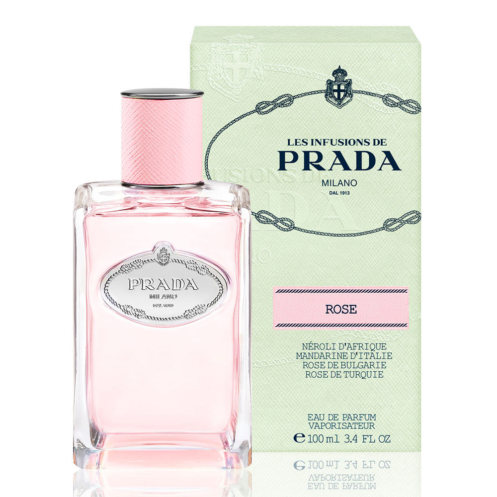 PRADA 玫瑰精粹淡香精(100ml)-香水公司貨
