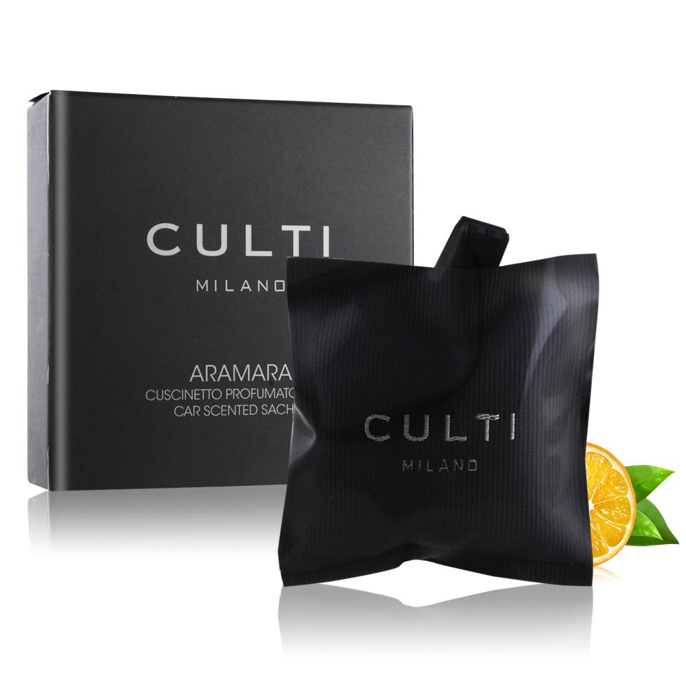 CULTI Milano 車用香氛包 地中海柑橘(7*7cm)-百貨公司貨(可持香50天)