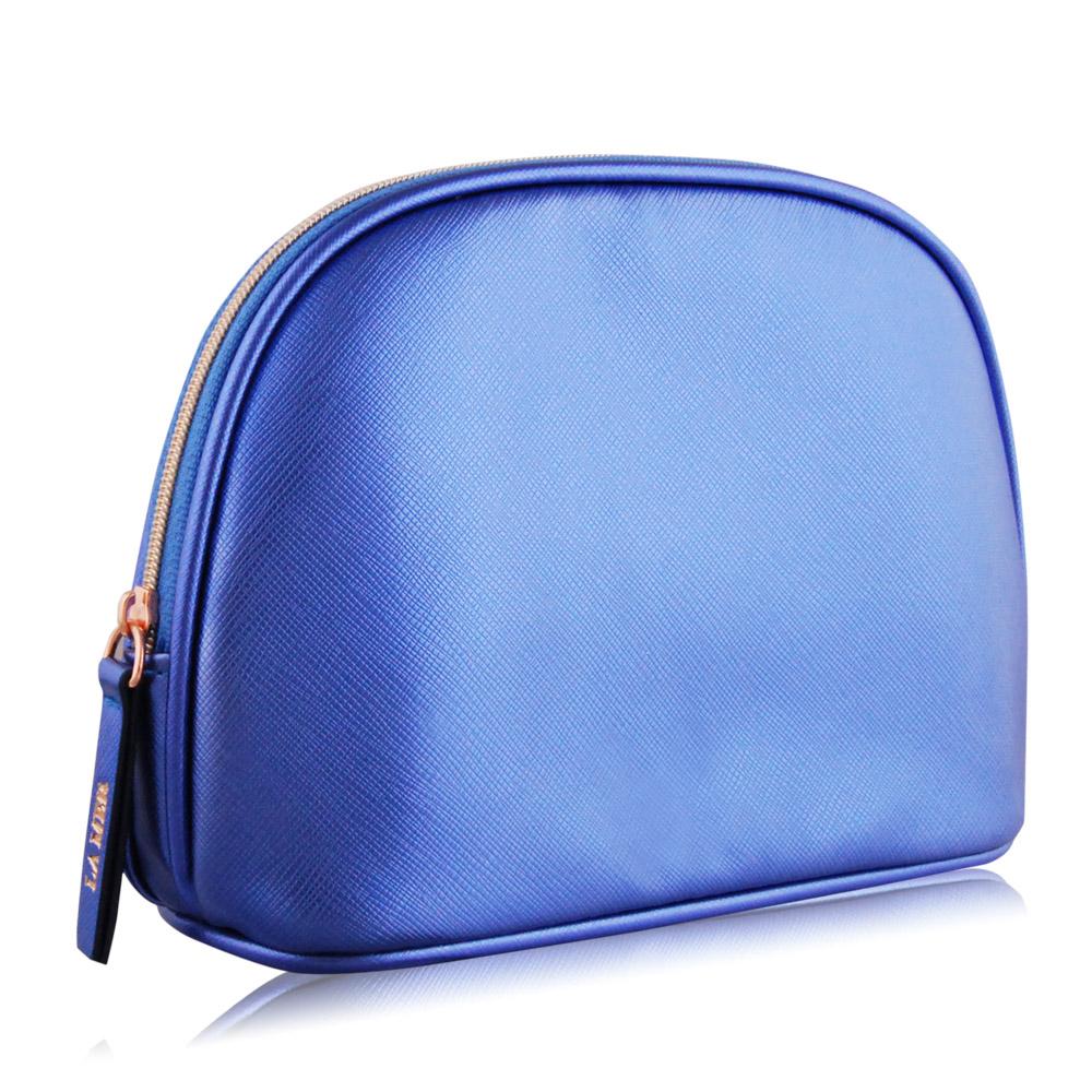 LA MER 海洋拉娜 藍紫色化妝包