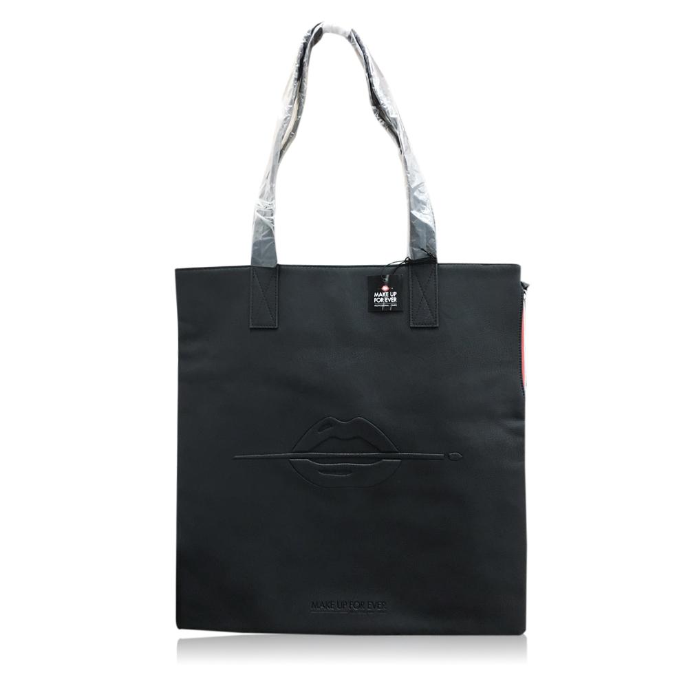 MAKE UP FOR EVER 黑色手提袋(40x0.5x42cm)