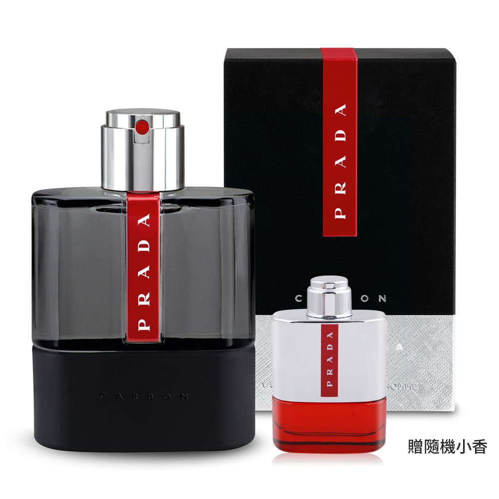 PRADA 卓越勁黑男性淡香水(50ml)-加贈隨機小香