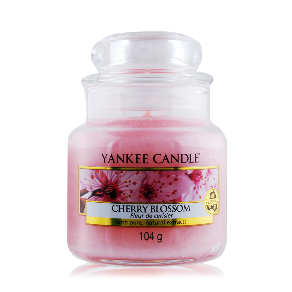 YANKEE CANDLE香氛蠟燭-粉紅櫻花 Cherry Blossom(104g)