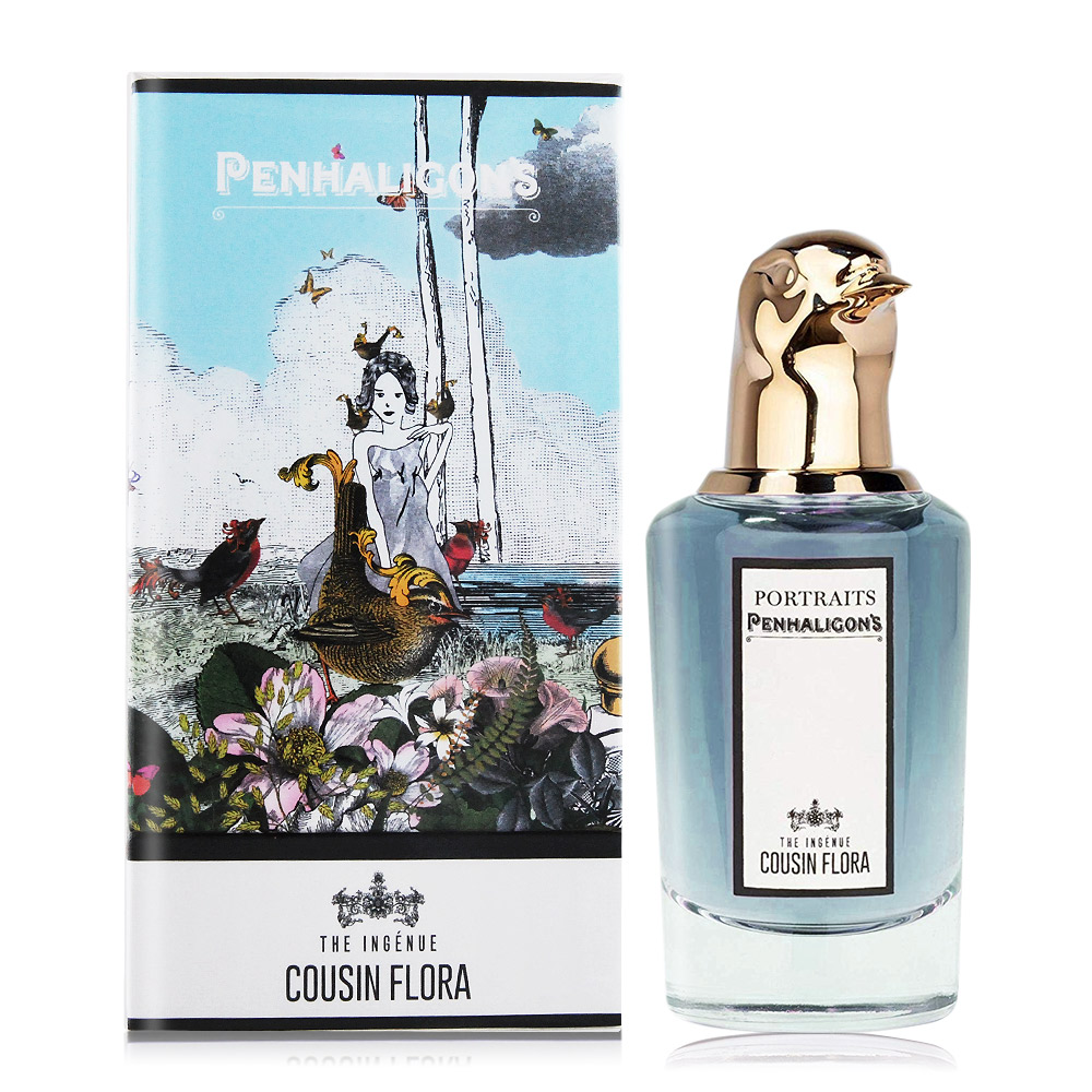 PENHALIGON'S 潘海利根 知更鳥淡香精(75ml) THE INGÉNUE COUSIN FLORA Portraits-獸首肖像香水