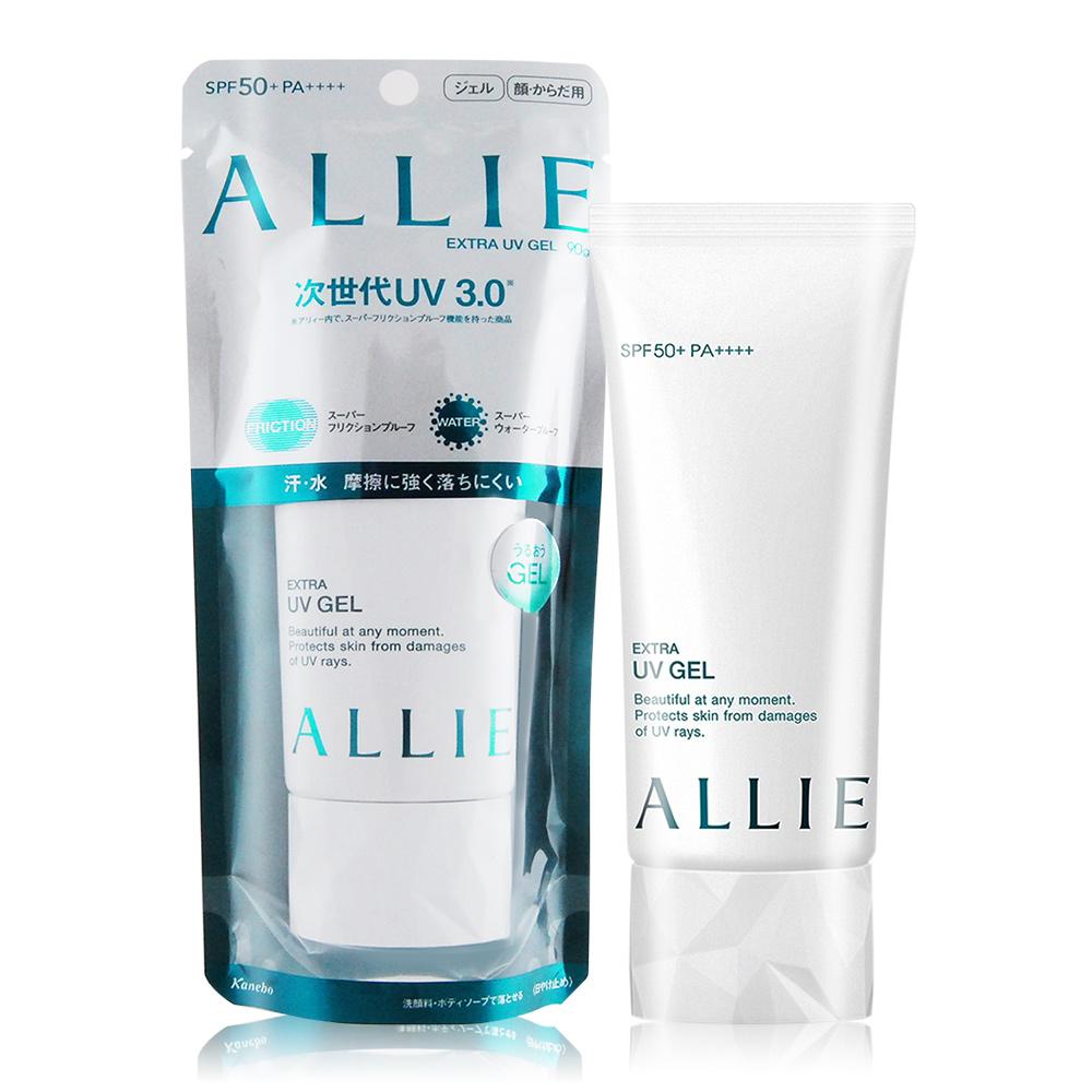 KANEBO 佳麗寶 ALLIE EX UV高效防曬水凝乳N SPF50+ PA++++(90g-百貨公司貨