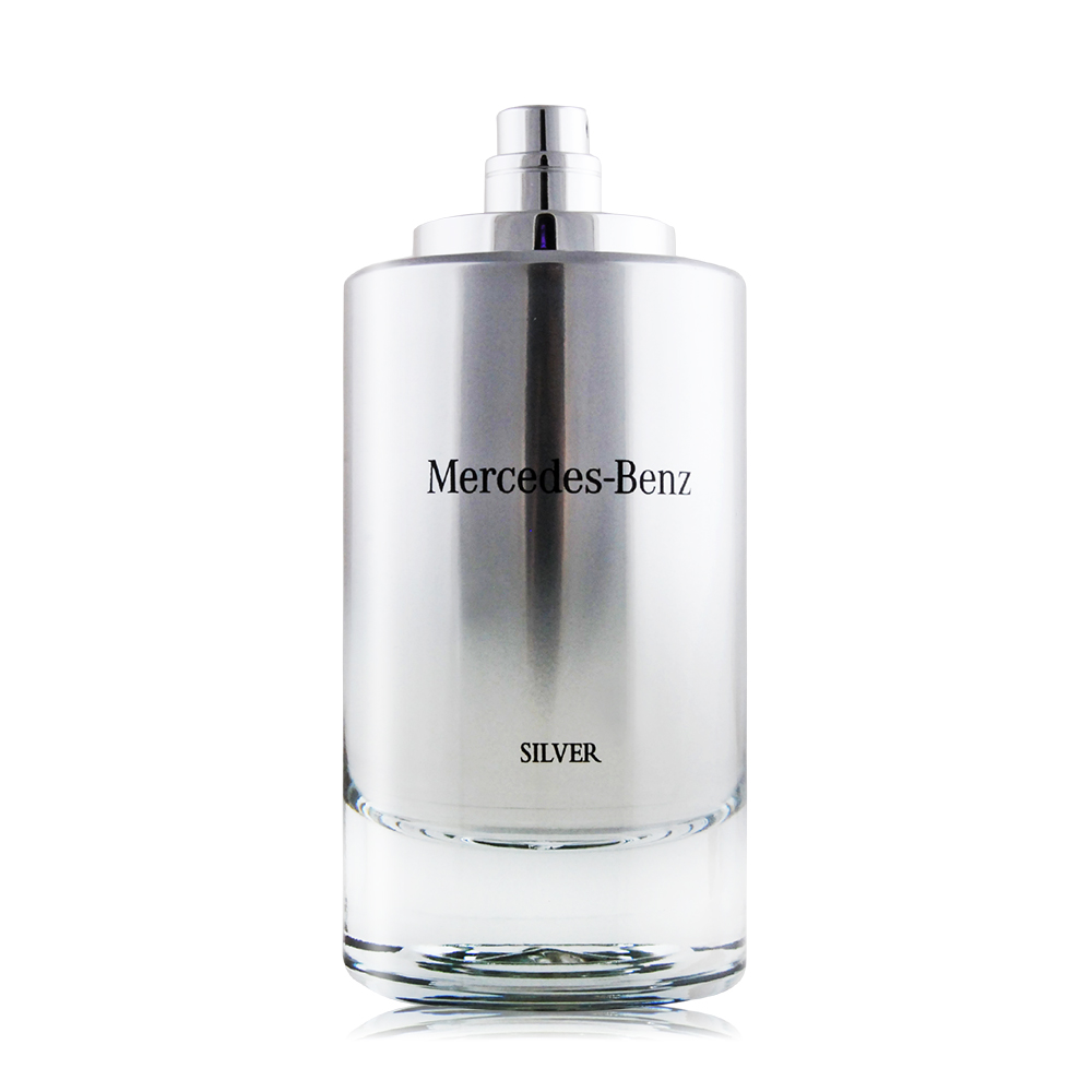 Mercedes Benz 賓士 銀輝幻羽男性淡香水 SILVER(120ml) EDT-國際航空版-TESTER