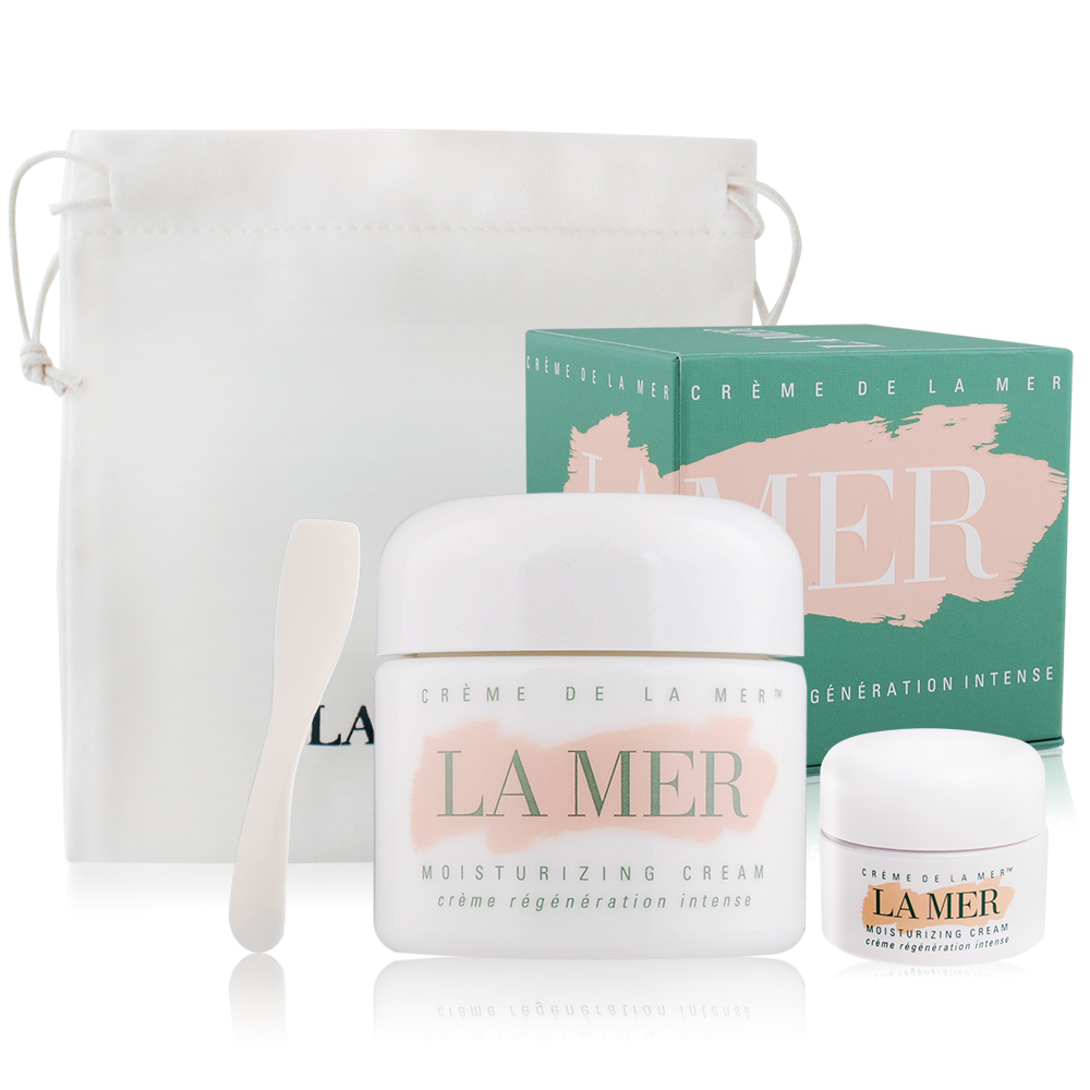 LA MER 海洋拉娜 乳霜(60ml+7ml)送品牌束口袋-百貨公司貨