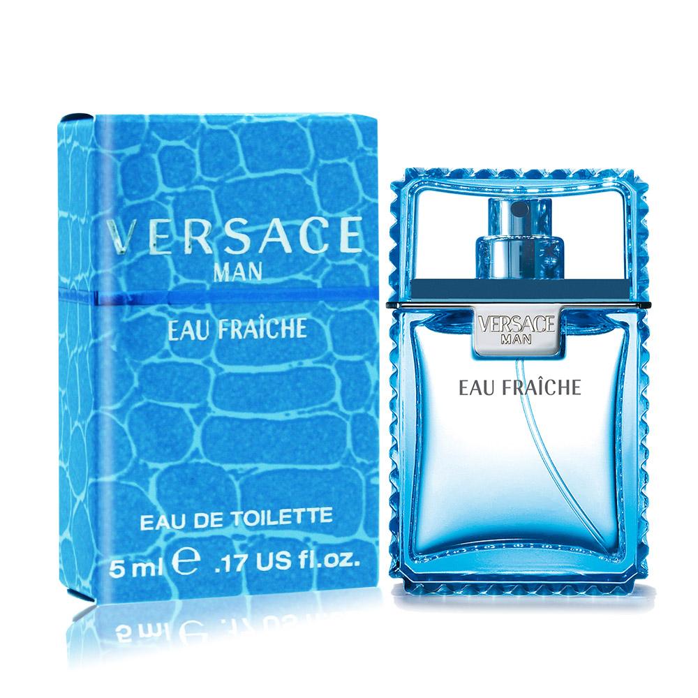 Versace 凡賽斯 雲淡風輕男性淡香水 Eau Fraiche(5ml) EDT-公司貨