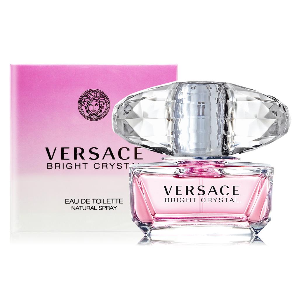 Versace 凡賽斯 香戀水晶淡香水 Bright Crystal(50ml) EDT-公司貨