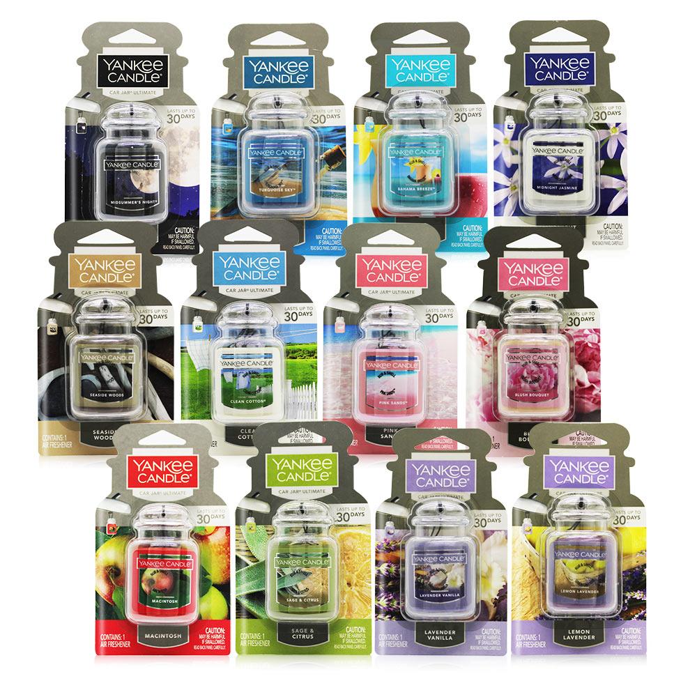 YANKEE CANDLE Car Jar ULT車用/室內 芳香劑吊飾-多款可選-美國原廠公司貨平行輸入