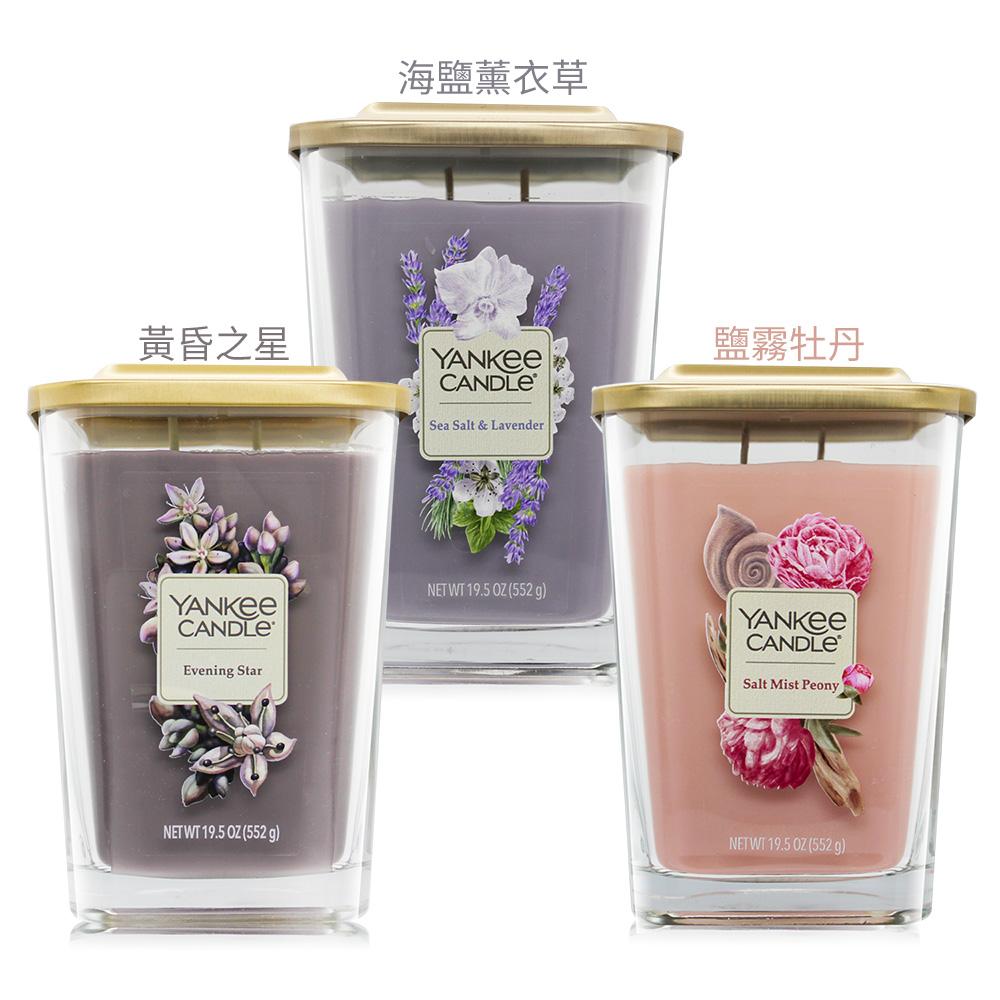 YANKEE CANDLE香氛蠟燭(552g)-方瓶-多款可選