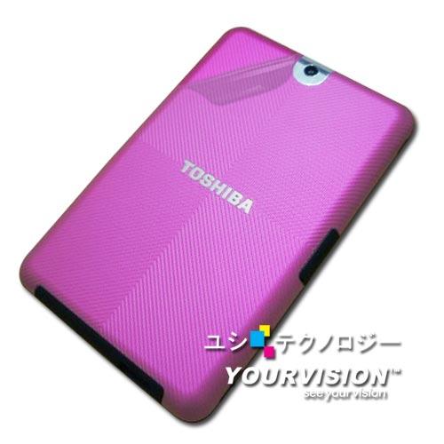 TOSHIBA Tablet AT100 10.1吋 超透超顯影機身背膜(貼)