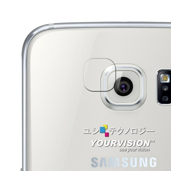 Samsung GALAXY S6 攝影機鏡頭專用光學顯影保護膜-贈拭鏡布
