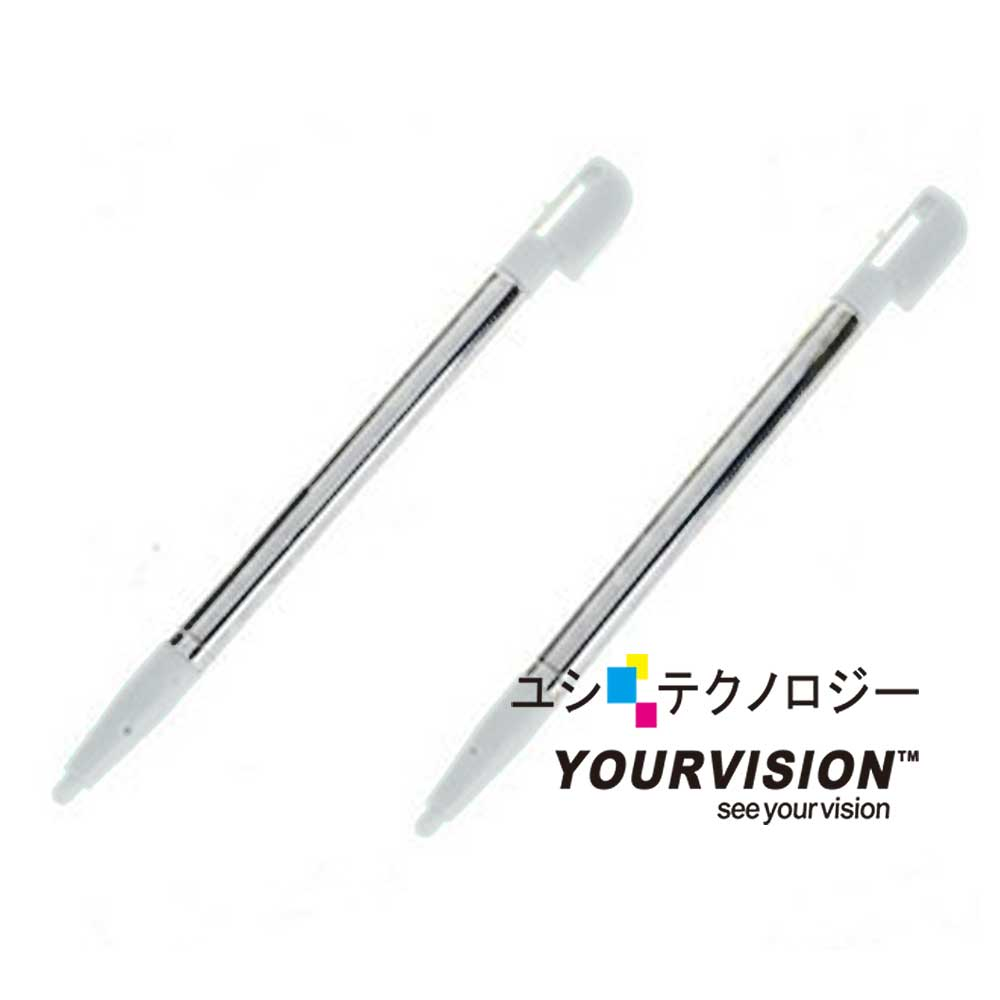 NDSL /NDSi 專用高質感金屬伸縮觸控筆(二入)