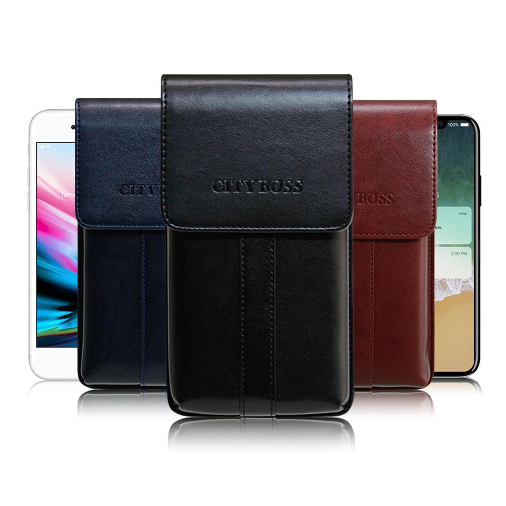 CB for OPPO R9s /R11/ R9 帥氣直立手機腰包皮套
