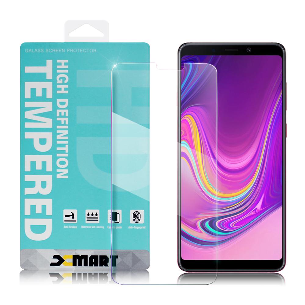 Xmart for 三星 Samsung Galaxy A9 2018 薄型 9H 玻璃保護貼-非滿版