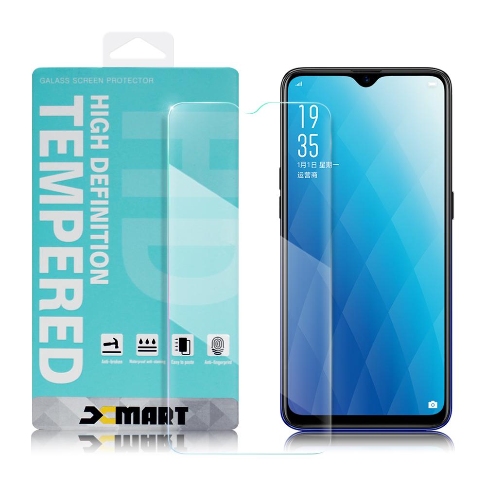 Xmart for OPPO AX7 薄型 9H 玻璃保護貼-非滿版