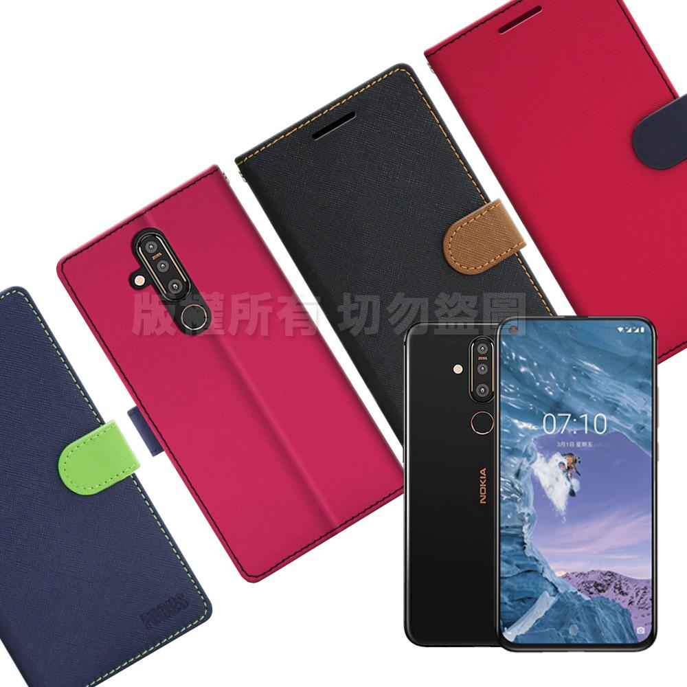 【台灣製造】FOCUS for Nokia X71 蜜糖繽紛支架皮套