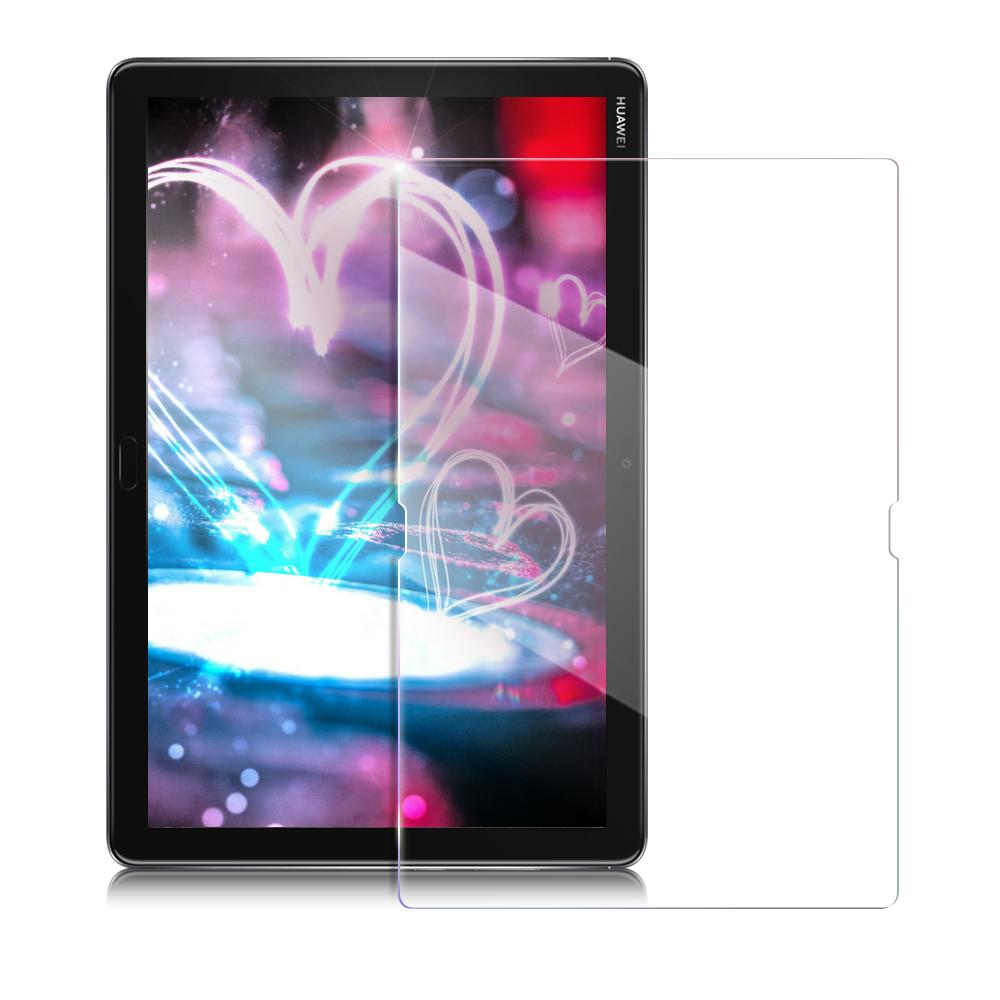 Xmart for 華為 HUAWEI MediaPad M5 Lite 10.1 強化指紋玻璃保護貼- 非滿版