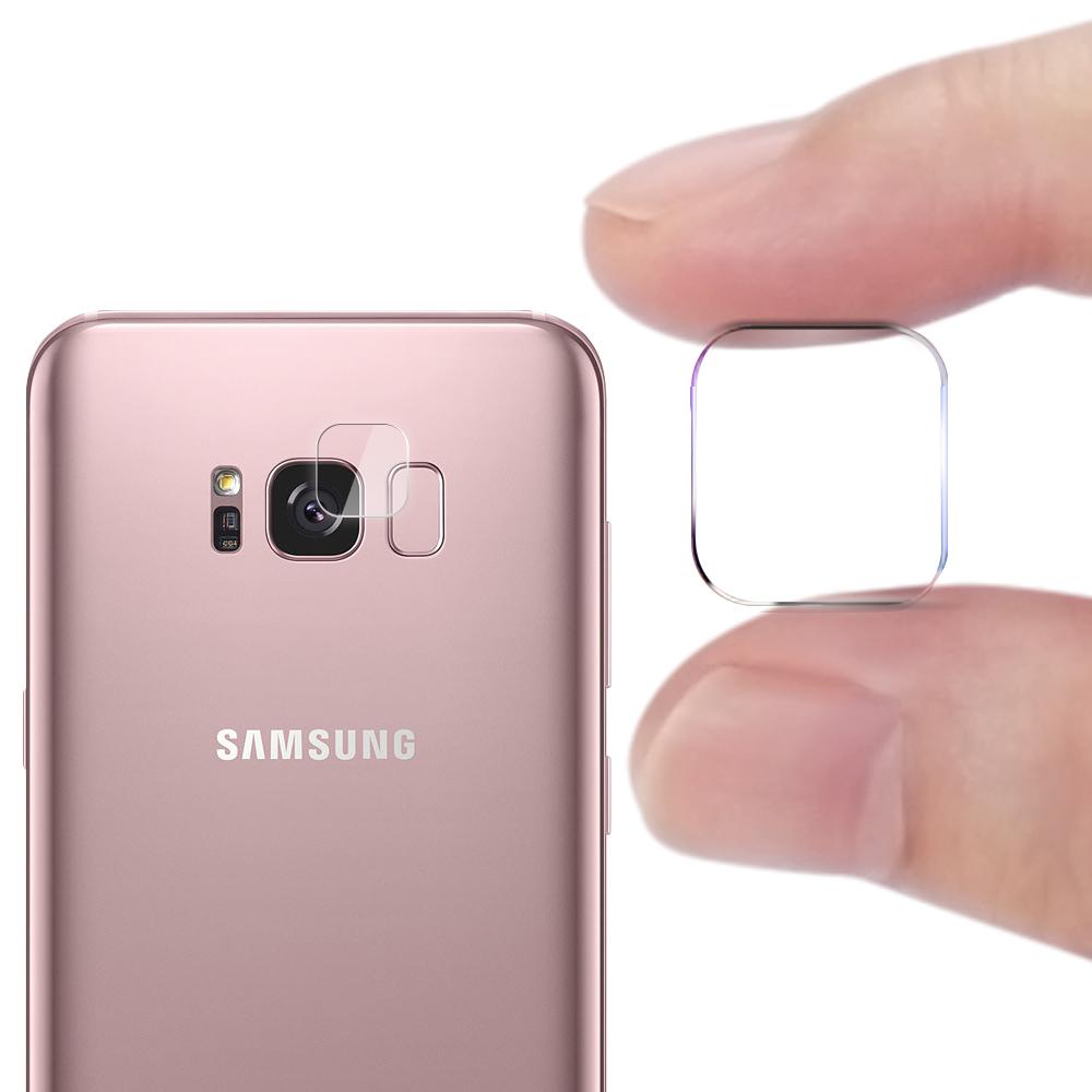 CITY for 三星 Samsung Galaxy S8+ 玻璃9H鏡頭保護貼精美盒裝 2入組