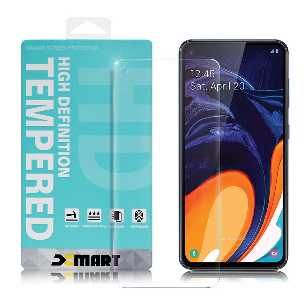 Xmart for 三星 Samsung Galaxy A60 薄型 9H 玻璃保護貼-非滿版