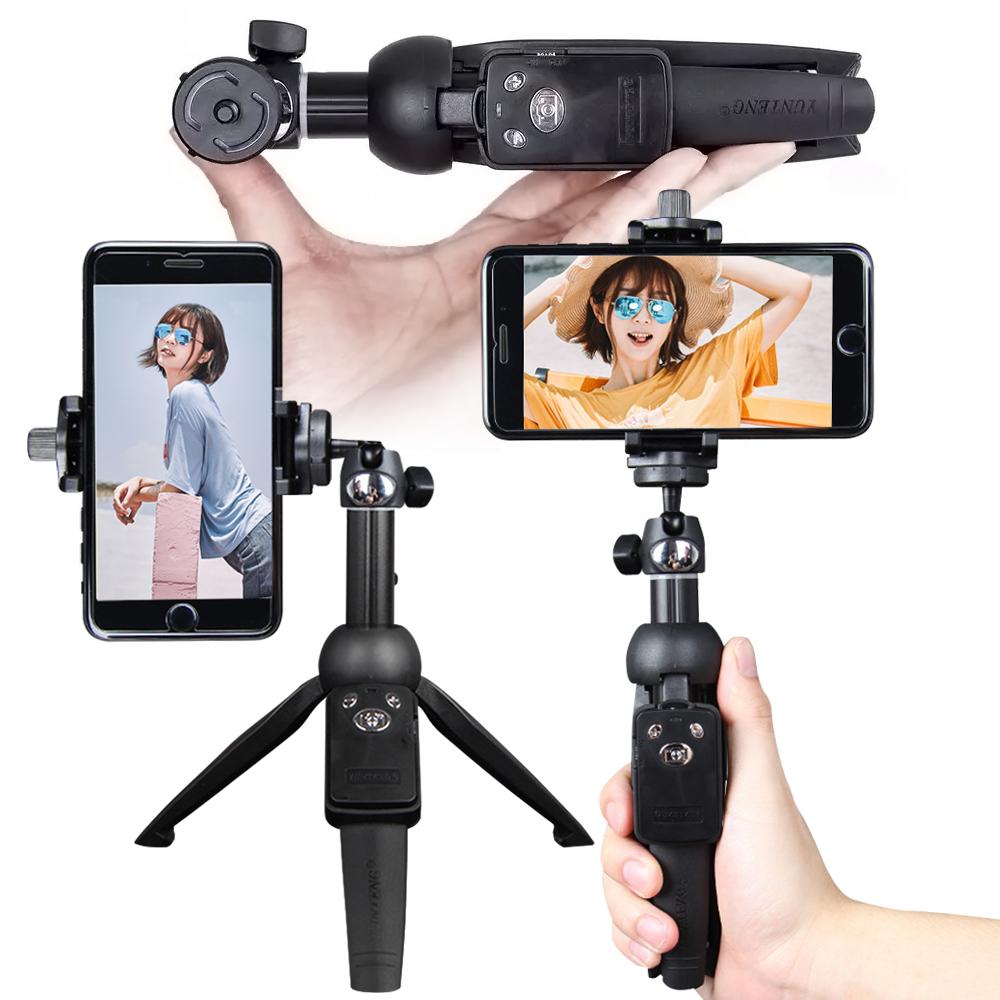 雲騰 9928 兩用藍牙自拍桿三腳架 相機/手機用