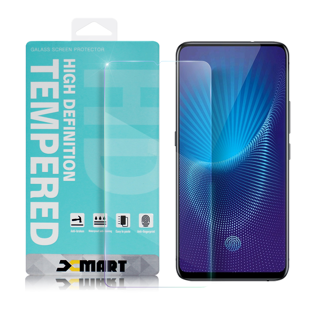 Xmart for VIVO S 薄型 9H 玻璃保護貼-非滿版