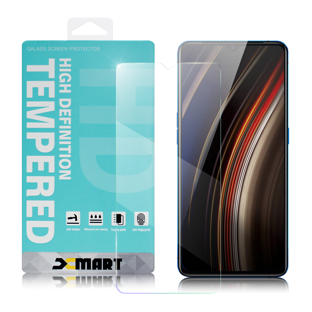 Xmart for OPPO Realme X2 Pro 薄型 9H 玻璃保護貼-非滿版