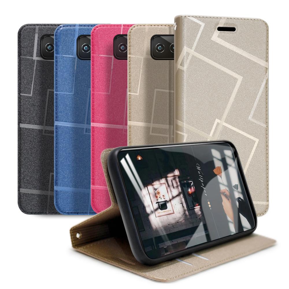 GENTEN for 華碩 ASUS Zenfone 7 Pro ZS671KS / Zenfone 7 ZS670KS 極簡立方磁力手機皮套
