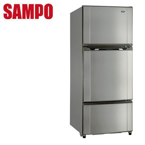 SAMPO聲寶 580公升省電脫臭三門冰箱SR-M58GV(S3)送安裝